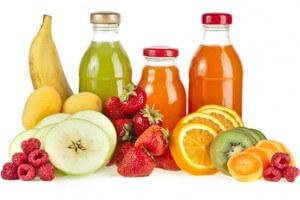 Gesunde Ernährung mit Fruchtsäften